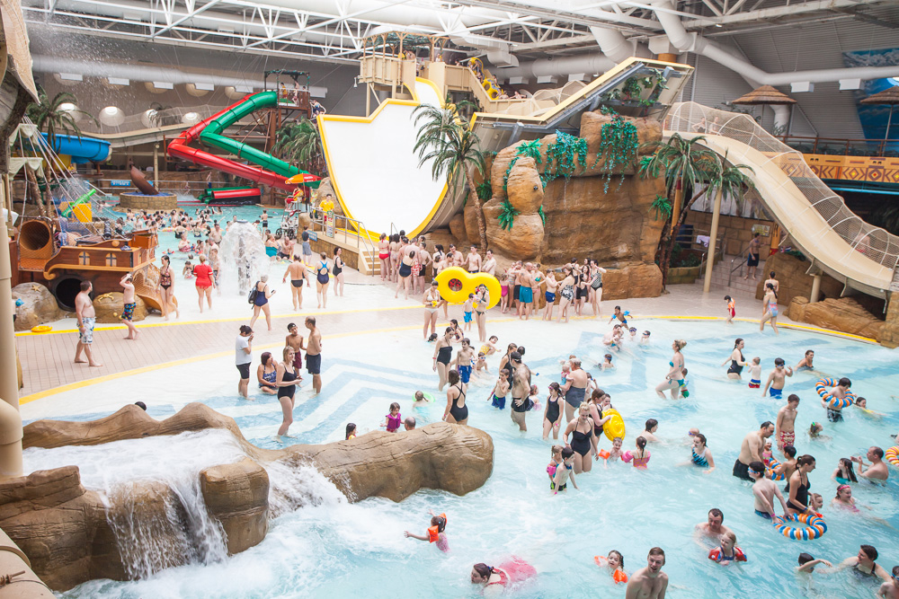 Sandcastle waterpark blackpool Campsites in scotland with swimming pool